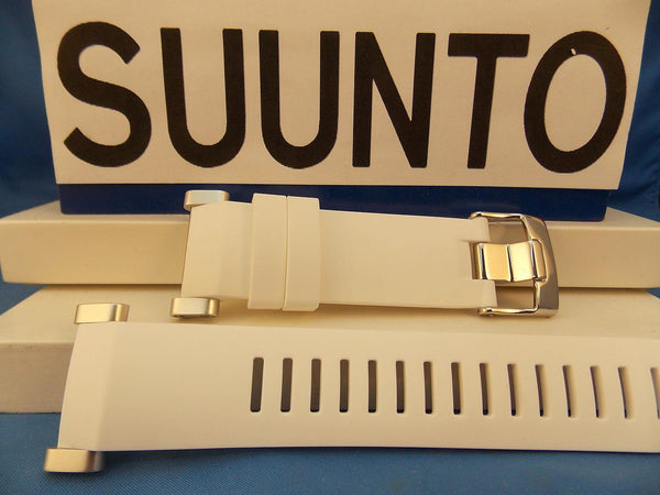 Suunto watchband Core White  Steel buckle / Hardware w/ Attaching T-Bars