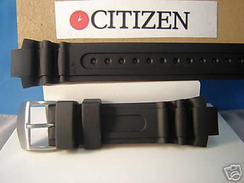 Citizen watchband BN0016. Original Pro Diver Eco-Drive Black Rubber