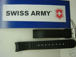 Swiss Army watchband Alliance Chrono 17mm curved ends