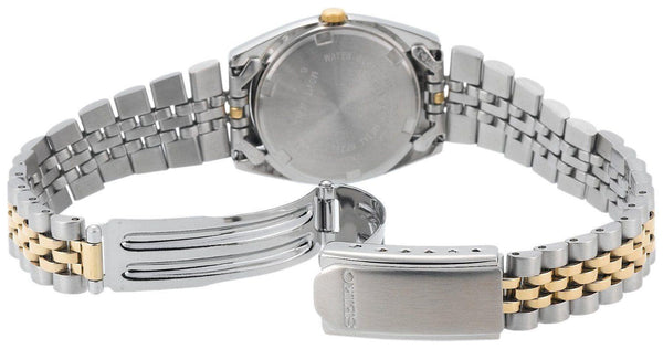 Seiko WatchBand SYD096, SWZ120, SWZ054. 2tone Ladies Bracelet 13mm Wide