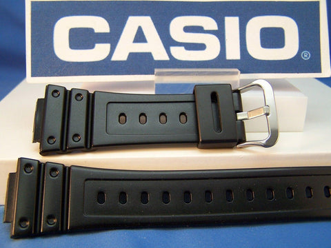 Casio watchband GW-M5600 R and GW-M5610 R. Polished Black Resin G-Shock