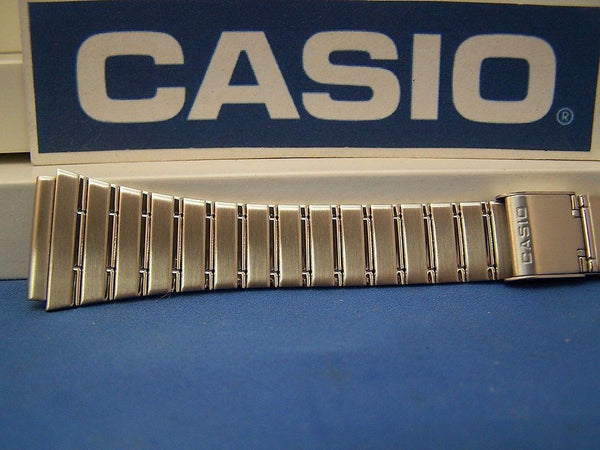 Casio watchband DBC-1500 B Steel Two Piece Snap Bracelet 22mm Fits Databank
