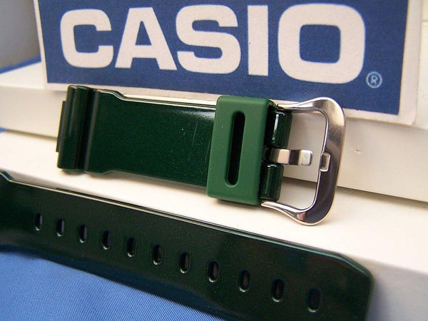 Casio watchband DW-6900 CC-3 Shiny Green G-Shock Watchband