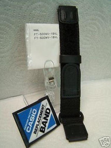 Casio watchband FT-500 NylonGrip 19mm High Quality Sport Band For 19mm Watch