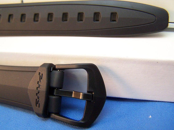 Casio watchband STR-300 C. Black Resin Phys Chrono Lap Memory 60