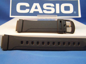 Casio watchband DB-37 16mm mens black Resin