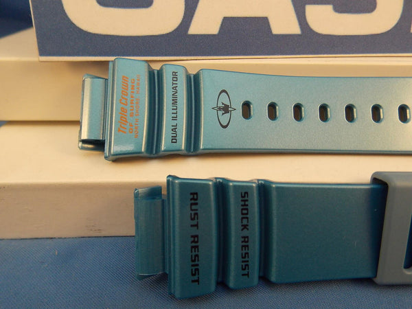 Casio watchband G-9100 TC-2V blue Triple Crown Of Surfing North Shore Hawaii