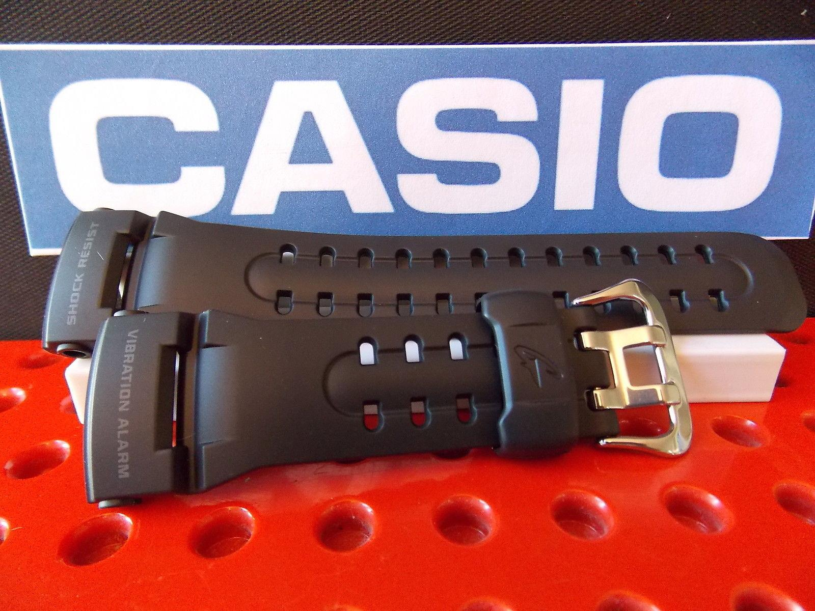 Casio watchband GW-400 J-1 Vibration Alarm Black Resin  Watchband