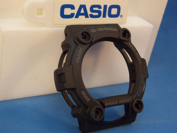 Casio Watch Parts G-7900 MS, GW-7900 BMS-1 Bezel / Shell Black w/Gray Letters