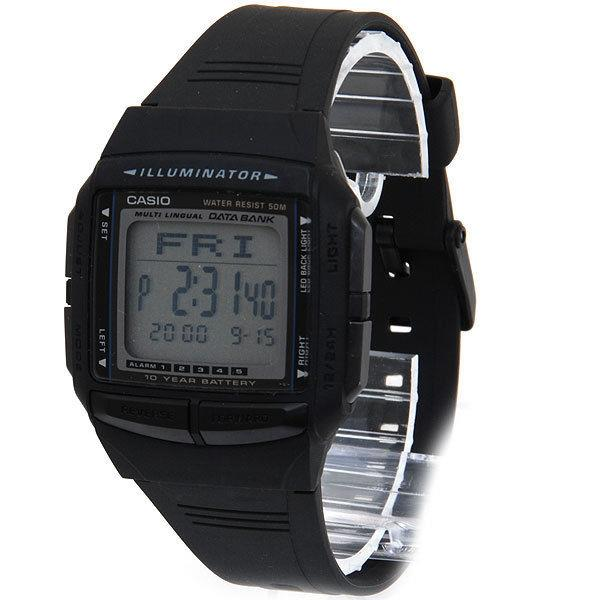 Casio watchband DB-36 Data Bank Black Resin