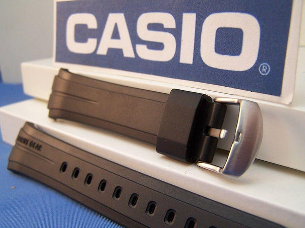 Casio watchband MRP-700 Marine Gear Black Resin  With Attaching Pins