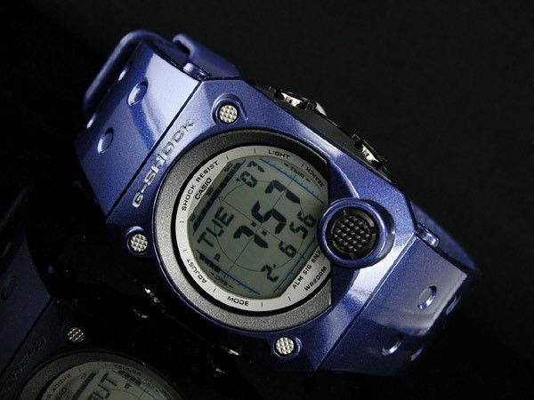 Casio watchband G-8000 -2 blue G-Shock Rubber