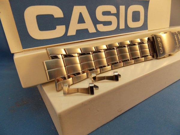 Casio watchband EFA-119 D Stainless Steel Silver Color Original Casio Bracelet
