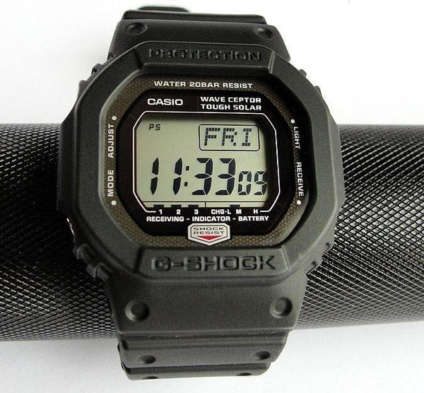 Casio watchband GW-5600 J-1 G-Shock  Black Resin G-Shock