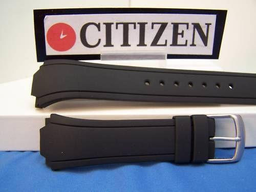 Citizen watchband BM8290 CaseBack # 4-k004438 Black Rubber