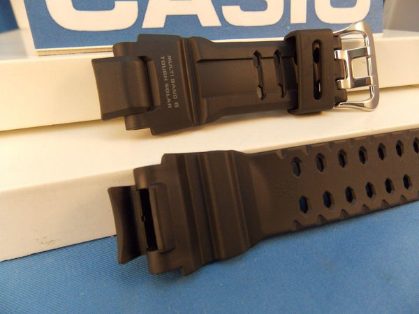 Casio watchband GW-4000 Black Rubber  Tough Solar Multi Band 6 G-Shock