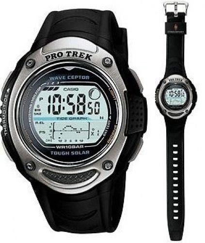 Casio watchband PRW-200, PRS-500 Pro Trek Black Rubber