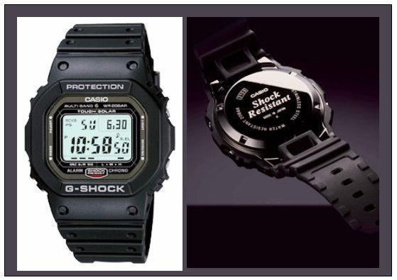 Casio watchband GW-5000 Black G-Shock  Watchband