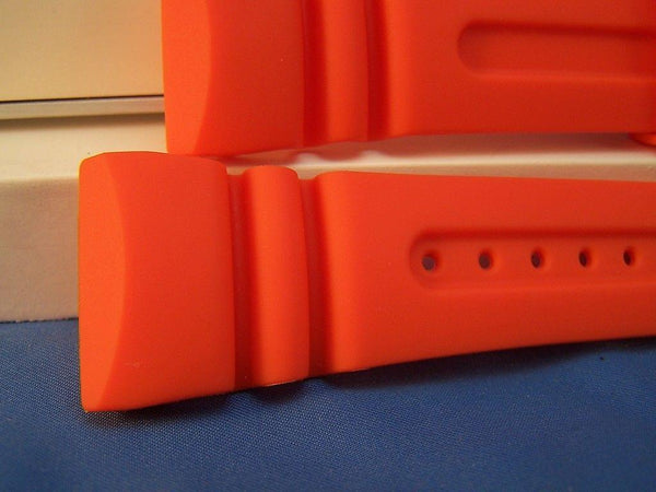Citizen watchband JV0030. Promaster 26mm Orange Resin Watchband /