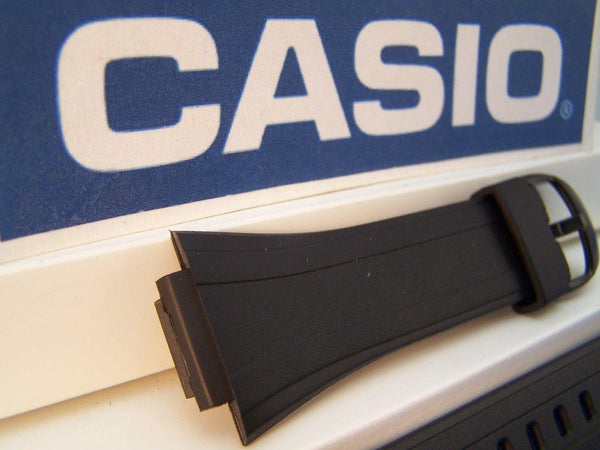 Casio watchband DB-E30 DataBank Black Rubber