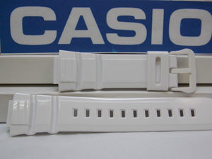 Casio watchband W-S220 White Tough Solar Illuminator 5 Alarm Watchband