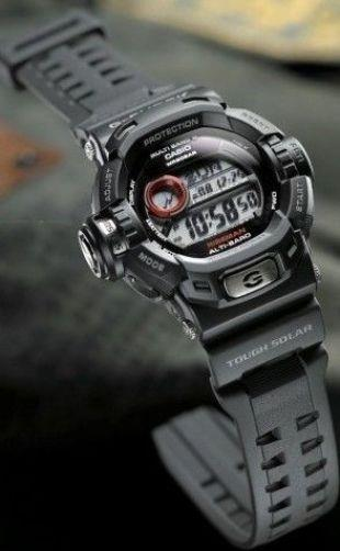 Casio watchband G-9200, GW-9200 G-Shock Black Rubber