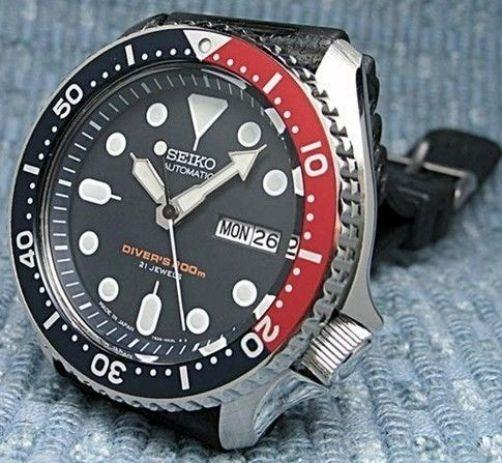 Seiko Watch Bracelet for Automatic Divers Model SKX175. 22mm All Stainless Steel