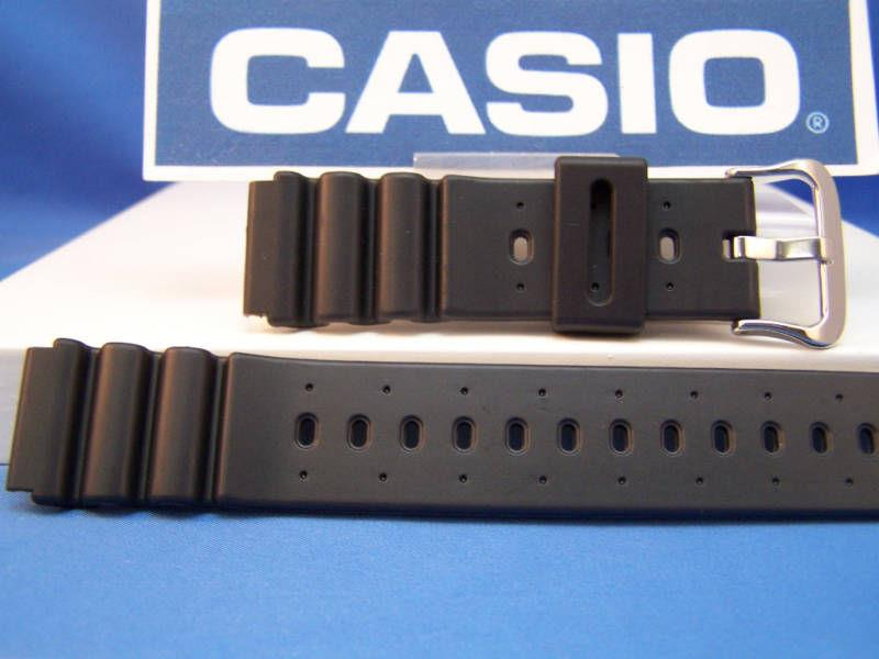Casio watchband DW-6400. 20mm  divers  LONG. Fits Most 20mm Wide Watches