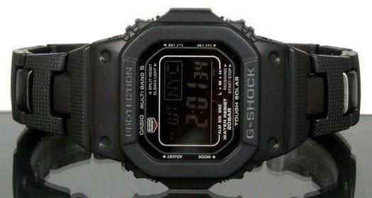 Casio watchband GW-M5600 G-Shock Black PVD Bracelet Also Fits DW-5600E