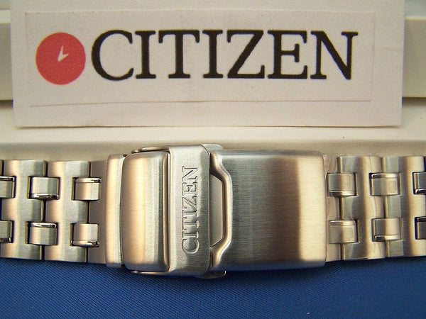 Citizen watchband Caliber 2100 Mod# AV0031 -59a Stainless Solid Linked Bracelet