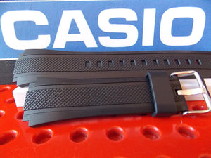 Casio watchband EF-552 Black Rubber Edifice Watchband /