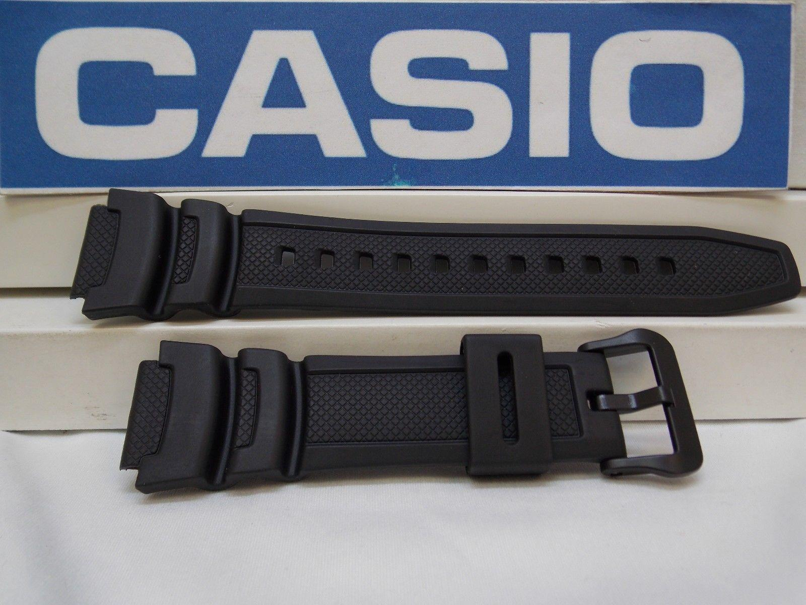 Casio watchband AE-1000, AE-1100 black Resin  Also Fits SGW-400, SGW-300