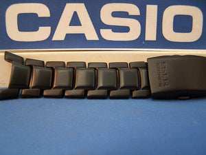 Casio watchband MTG-910, MTG-911, MTG-920. MT-G G-Shock Black PVD Bracelet