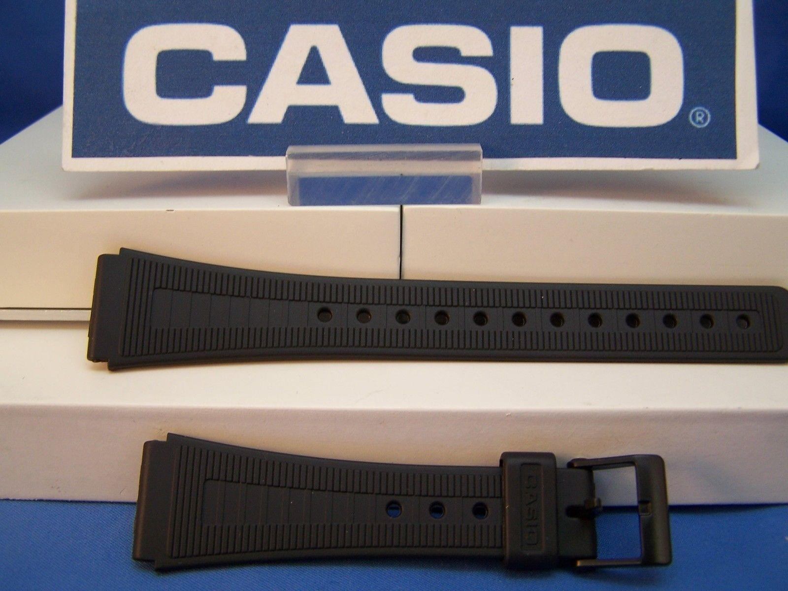 Casio watchband AQ-48. AQ-51. F-84. Black Resin