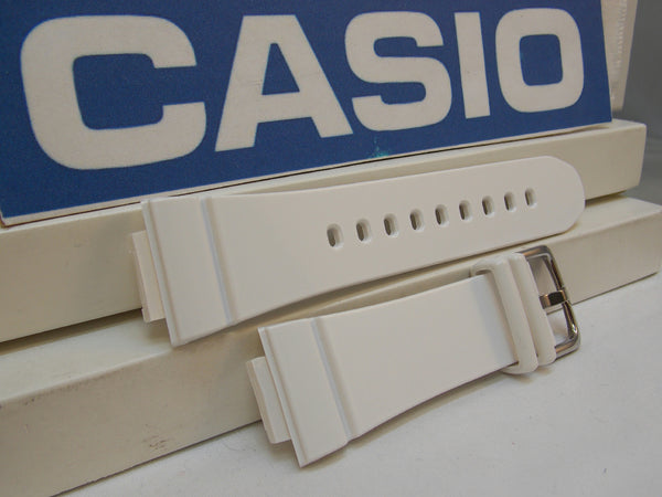 Casio watchband BGA-131 -7 White Rubber Baby-G. G-Shock Watchband /
