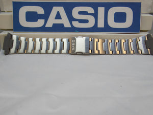 Casio watchband DB-E30 D Bracelet Steel / Silver Tone Data Bank Watchband