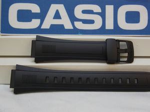 Casio watchband CPW-500 Resin Black  for Prayer Compass 5 Alarm Watch