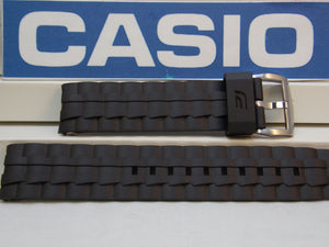 Casio watchband EF-550 Black Resin Edifice  / Watchband