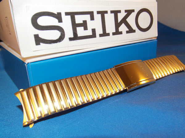 Seiko WatchBand SNE064 EZ Adjustable Length Stretch Band 20mm. Back # V158-0AB0
