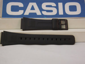 Casio watchband AB-10, AB-20, DB-53, DB-55, DBA-80, FB-52.Black  Watchband