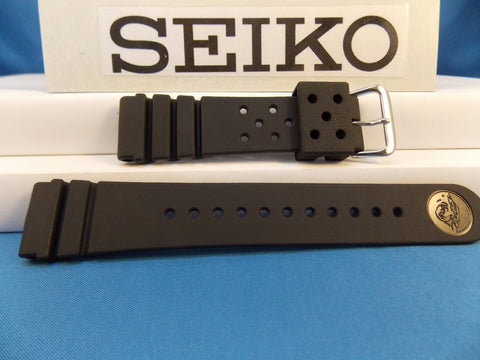 Seiko WatchBand SKX173 Divers 22mm Resin . Diver watchband.Two-Piece