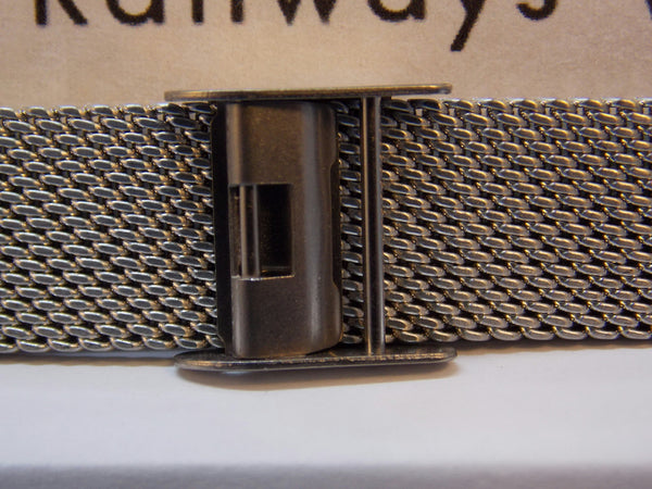 Mondaine Swiss Railways watchband 14mm Bracelet One Piece Steel Mesh Watchband