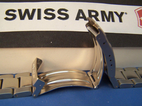 Swiss Army watchband Officer Bracelet All Steel fits Mod: 24336, 24337