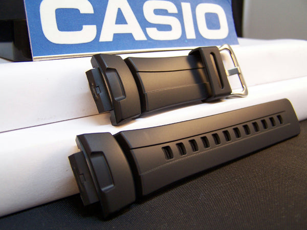 Casio watchband G-100, G101, G-200, G-2110, G-2300, G-2310 Black Resin