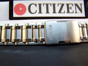 Citizen watchband AT4008 -51E Original Bracelet for EcoDrive Perpetual Calendar