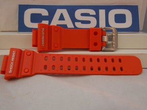 Casio watchband GX-56 GXW-56 Orange Mud Resist Resin G-Shock  Watchband
