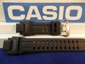 Casio watchband G-1400 Blk Resin  G-shock Tough Solar Water 20 Bar Resist