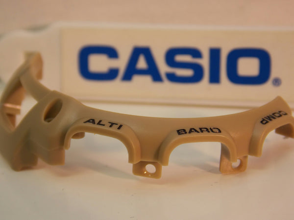 Casio Watch Parts PAG-40 & PRG-40 Tan Partial Bezel 3 O'clock Side