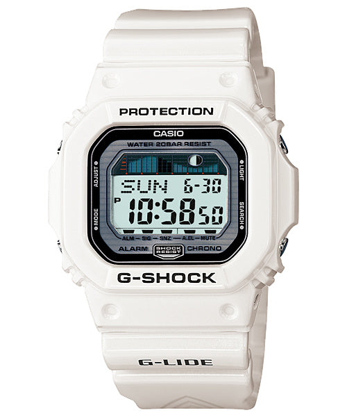 Casio Watch Parts GLS-5600.White Shiny Bezel/Shell.Also Fit: GLX-5600, G-5600