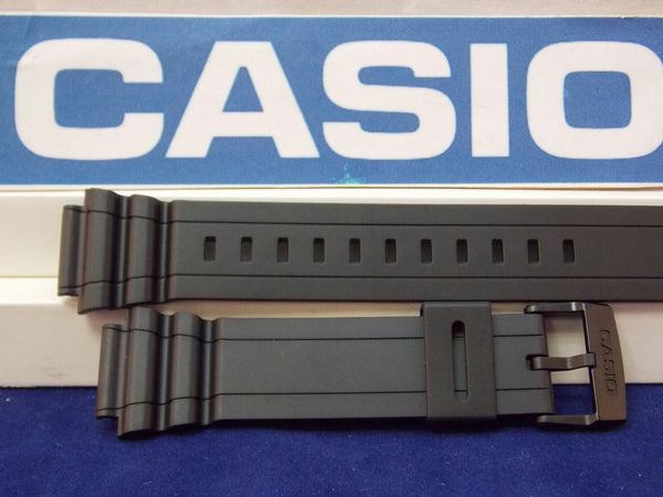 Casio watchband MRW-S300 H Black Resin . Watchband
